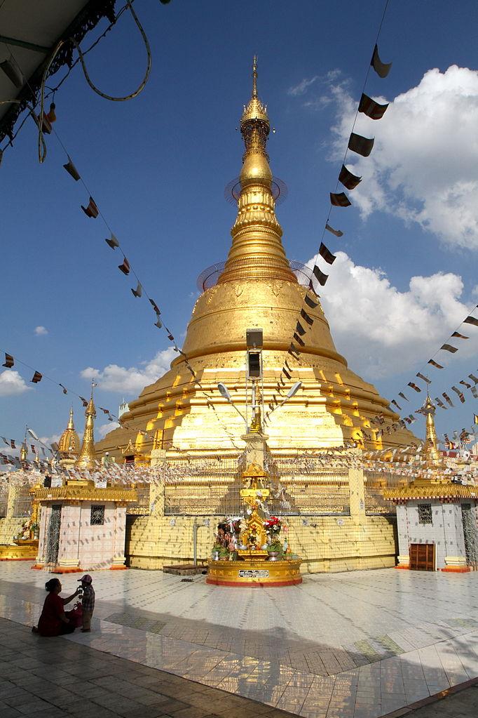682px-Botataung_Pagoda_stupa_with_flags_Yangon_Myanmar[1]